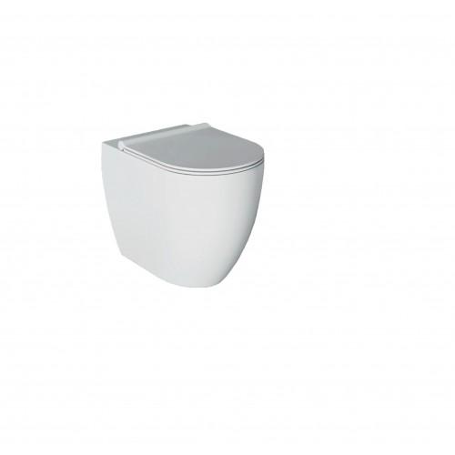 Pristatomas klozetas Alice Ceramica Form Square Rimless 540x350