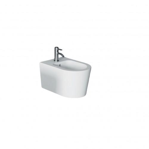 Pakabinama bidė Alice Ceramica Form Square Rimless 500x350