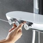 Grohe termostatinė dušo sistema Rainshower SmartControl 360 Duo su rankiniu dušiuku Power&Soul 115-voniosguru.lt