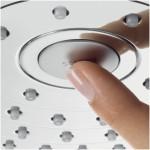 Hansgrohe Raindance Select S 240 2jet dušo galva su laikikliu, chromas 26466000-voniosguru.lt