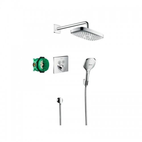 Hansgrohe Raindance Select E potinkinis dušo komplektas su termostatiniu maišytuvu