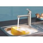 Grohe Eurosmart Cosmopolitan virtuvės maišytuvas, nerūd. plieno spalvos-voniosguru.lt
