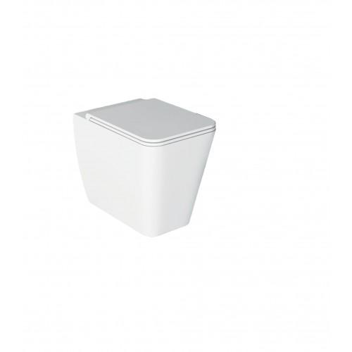 Pristatomas klozetas Alice Ceramica Hide Square 550x350