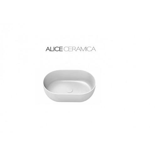 Ant stalviršio pastatomas praustuvas-dubuo Alice Ceramica Unica 550x350 mm