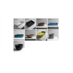 Alice Ceramica Unica 500x350 pakabinamas klozetas su lėtaeigiu dangčiu
