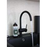 Grohe Minta virtuvinis maišytuvas juodas 32917KS0-voniosguru.lt