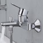 Grohe Eurosmart new vonios maišytuvas, chromas-voniosguru.lt