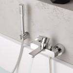 Grohe Lineare New vonios maišytuvas, su dušo komplektu, chromas 33850001-voniosguru.lt