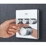 Grohe Grohtherm SmartControl Cube potinkinis termostatinis dušo komplektas 34706000 -voniosguru.lt