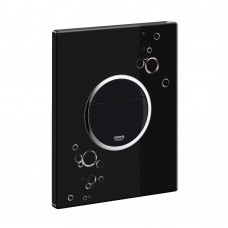 Grohe Nova Cosmopolitan WC nuleidimo mygtukas, juodas/chromas