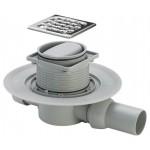 Viega 583217 sauso tipo dušo trapas su nerūdijančio plieno grotelėmis-voniosguru.lt