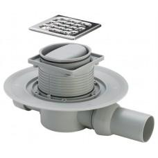Viega 583217 sauso tipo dušo trapas su nerūdijančio plieno grotelėmis