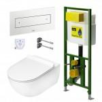 Viega Eco Plus klozeto rėmas su tvirtinimais 606664+460440-voniosguru.lt