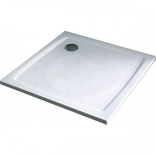 Ravak Perseus pro dušo padėklas kvadratinis iš lieto marmuro 100 cm-voniosguru.lt