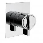 BUGNATESE termostatinis potinkinis vienos krypties dušo maišytuvas Stone-voniosguru.lt