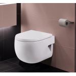 Meridian Compact klozetas, tvirtinamas prie sienos, baltas-voniosguru.lt