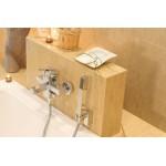 Deante Cubic vonios maišytuvas su dušo komplektu