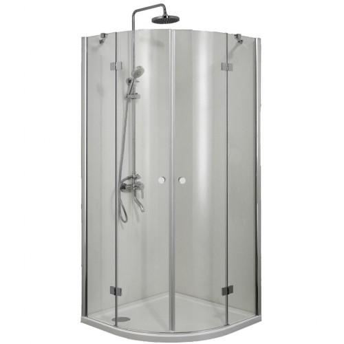 Pusapvalė dušo kabina Sanotechnik Smartflex
