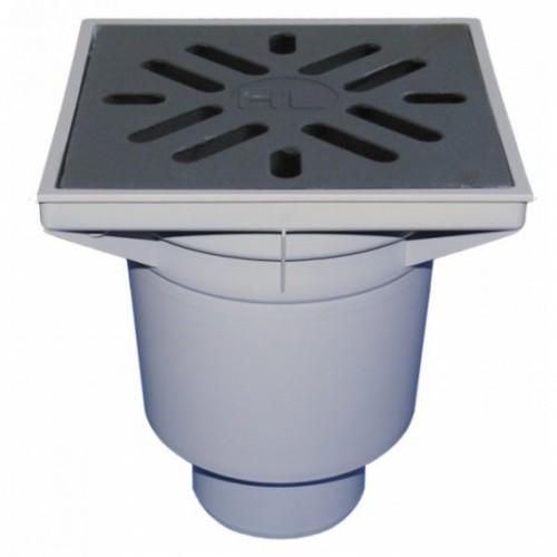 HL606.1 PERFEKT serijos trapas su porėmiu ir grotelėmis iš ketaus-voniosguru.lt