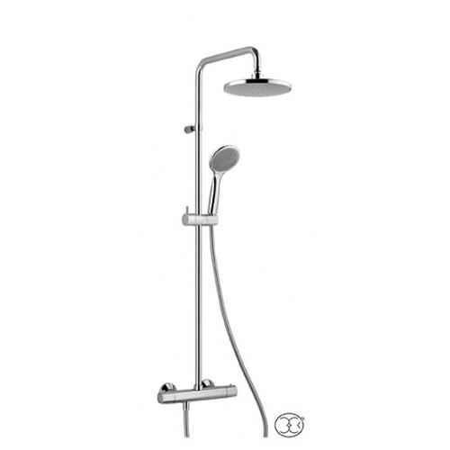 Termostatinė dušo sistema ALPI su rankiniu dušeliu