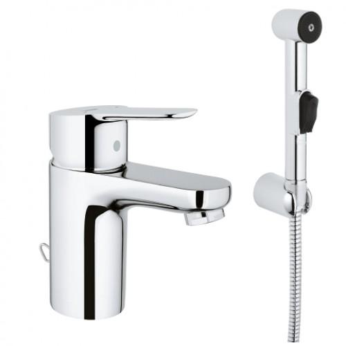 GROHE Bauedge praustuvo maišytuvas su dušeliu-voniosguru.lt