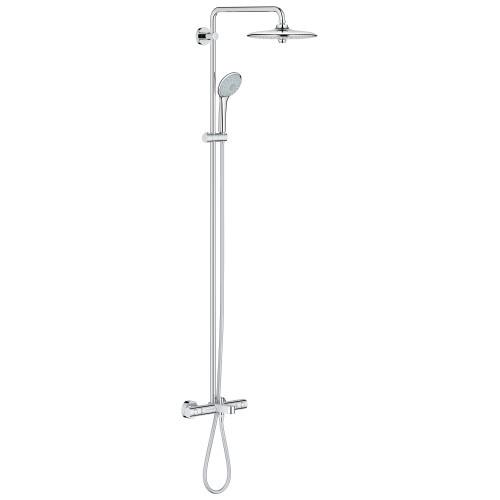 Termostatinė Dušo sistema Grohe Euphoria 260 su lietaus masažo funkcija-voniosguru.lt