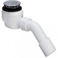 Viega dušo padėklo sifonas su chromuotu ventiliu, d 52mm