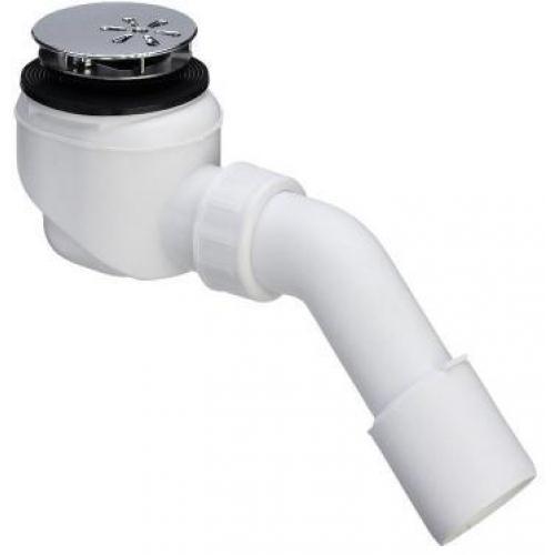 Viega dušo padėklo sifonas su chromuotu ventiliu, d 52mm-voniosguru.lt