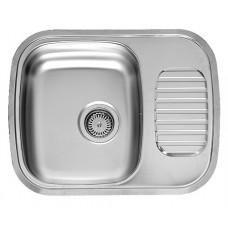 Reginox Regidrain nerūdijančio plieno virtuvinė plautuvė, 59,5x47 cm