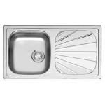 Reginox Beta 10 virtuvinė plautuvė, 78 x 43, nerūdijančio plieno-voniosguru.lt
