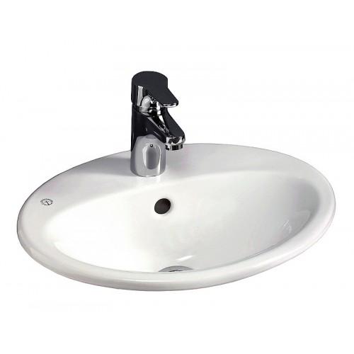 Gustavsberg Nautic įleidžiamas praustuvas 5545, 450x360mm-voniosguru.lt