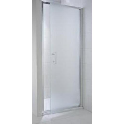 Jika Cubito dušo durys veriamos 80x195cm, sidabras/persišviečiantis stiklas-voniosguru.lt