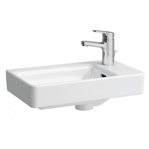 Pro A mažas praustuvas 48x28 cm, dešininis, baltas-voniosguru.lt