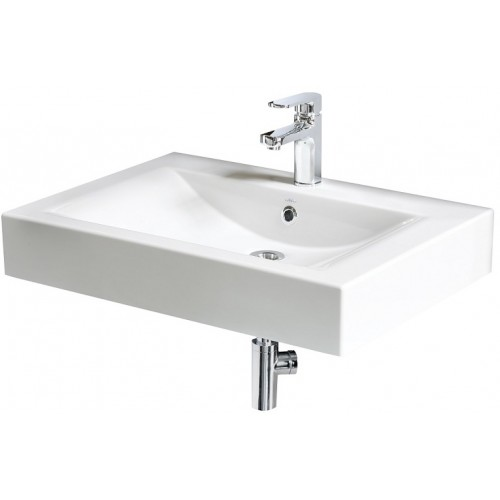 Long Step washbasin 700 mm white-voniosguru.lt