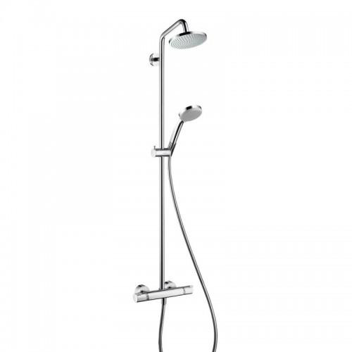 Dušo komplektas Hansgrohe Croma 160 su termostatiniu maišytuvu-voniosguru.lt