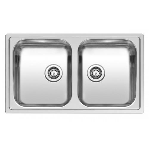 Reginox dviejų dubenų plautuvė Centurio 20 nerūdijančio plieno-voniosguru.lt
