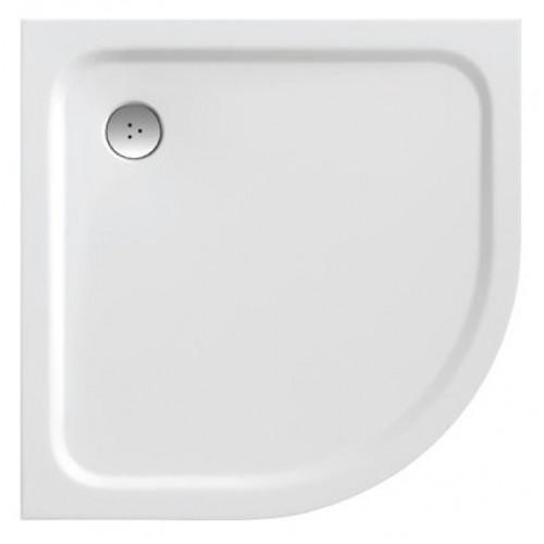 Ravak dušo padėklas Elipso pro pusiau apvalus 80x80 cm-voniosguru.lt