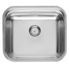 Reginox Colorado Comfort RP, virtuvinė plautvė su ventiliu, 44,5 x 39,3 x 16 cm, Nerūdijančio plieno