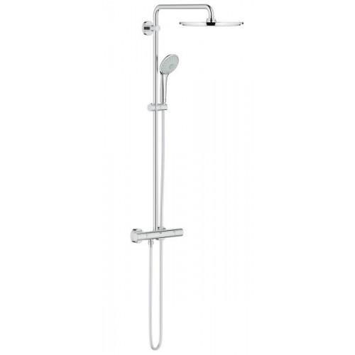 Termostatinė dušo sistema Grohe Euphoria XXL 310, chromas 26075000-voniosguru.lt