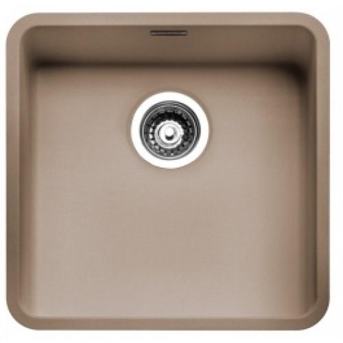 Reginox Ohio akmens masės virtuvinė plautuvė 440x440 mm, sahara spalvos-voniosguru.lt