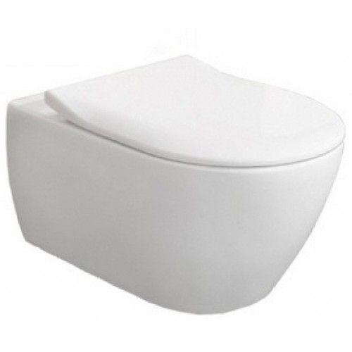 Villeroy & Boch Subway 2.0 pakabinamas Direct Flush WC su lėtai užsidarančiu dangčiu 5614R201-voniosguru.lt