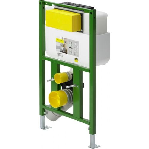 Viega potinkinis WC rėmas Eco Plus, pažemintas su tvirtinimais 718336+460440-voniosguru.lt