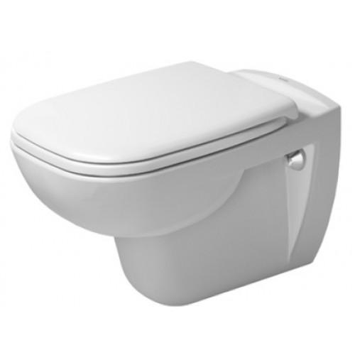 Pakabinamas klozetas Duravit D-Code su soft-close dangčiu-voniosguru.lt
