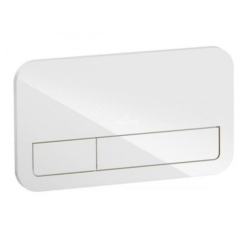 Villeroy & Boch Nuleidimo mygtukas Flush plate ViConnect baltas-voniosguru.lt