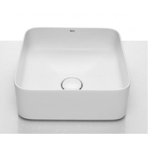 Roca Inspira Square pastatomas  praustuvas, 370x370 mm, baltas su danga Fineceramic® ,A327532000,-voniosguru.lt