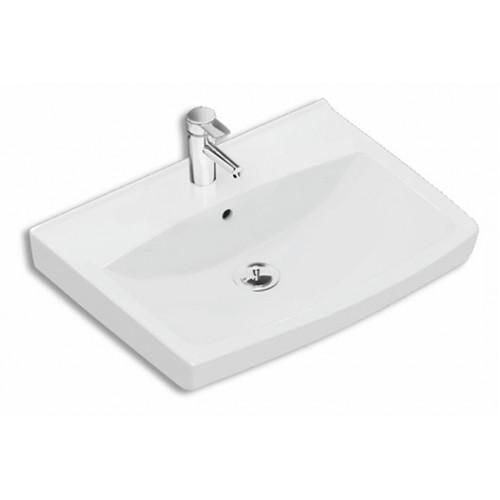Pakaboinamas Ifö Spira praustuvas 57 x 44, su papildoma danga, baltas-voniosguru.lt