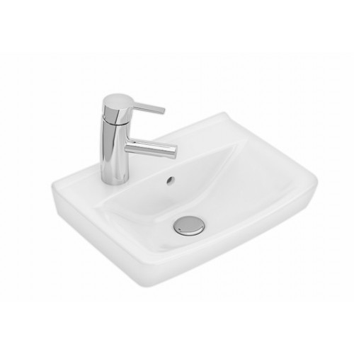 Inspira wash basin white left 415 mm-voniosguru.lt