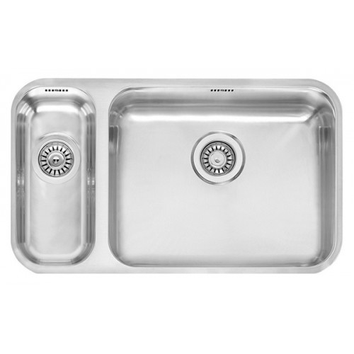 Reginox iš apačios klijuojama IB 1840+5040 virtuvinė plautuvė-voniosguru.lt