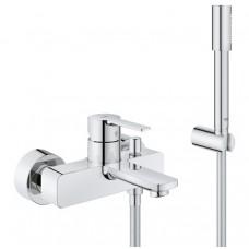 Grohe Lineare New vonios maišytuvas, su dušo komplektu, chromas 33850001