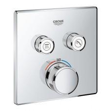 Grohe Grohtherm SmartControl potinkinis termostatinis maišytuvas 2 krypčių išbėgimas su potinkine dalimi